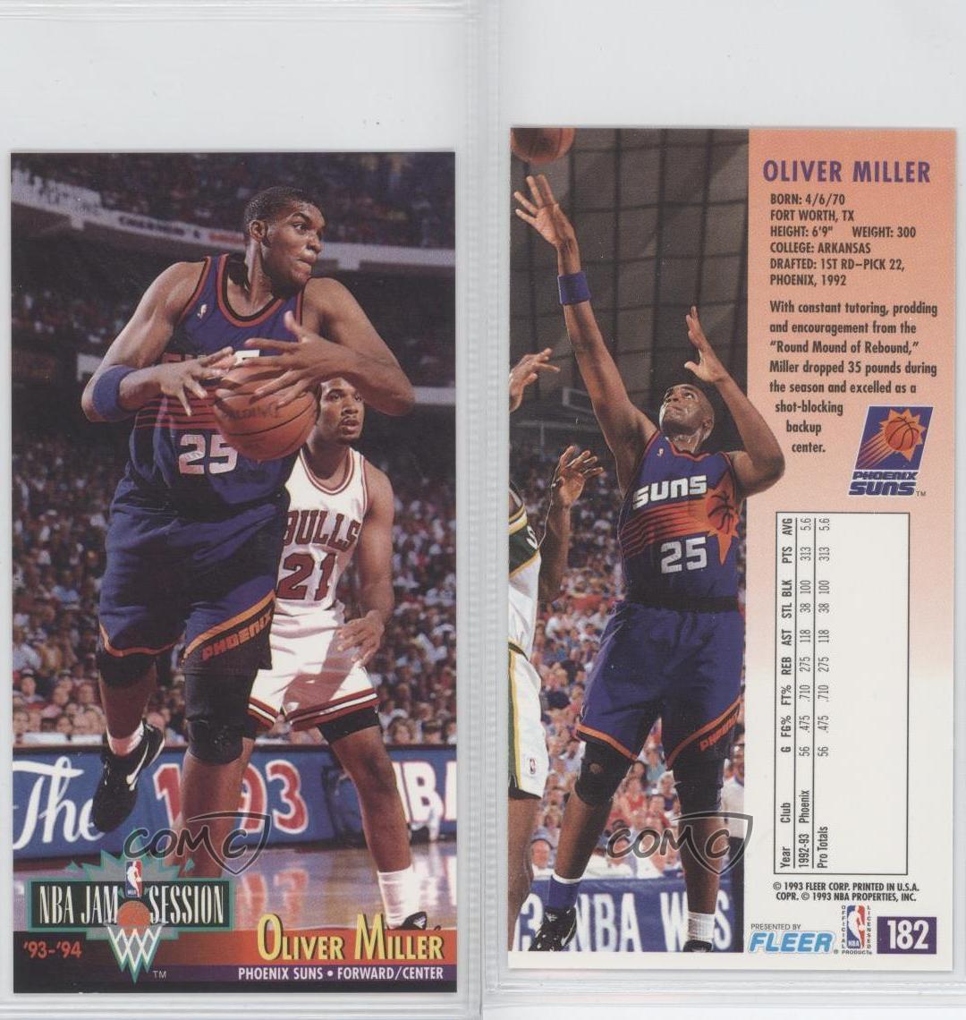 1993-94 NBA Jam Session #182 Oliver Miller Phoenix Suns