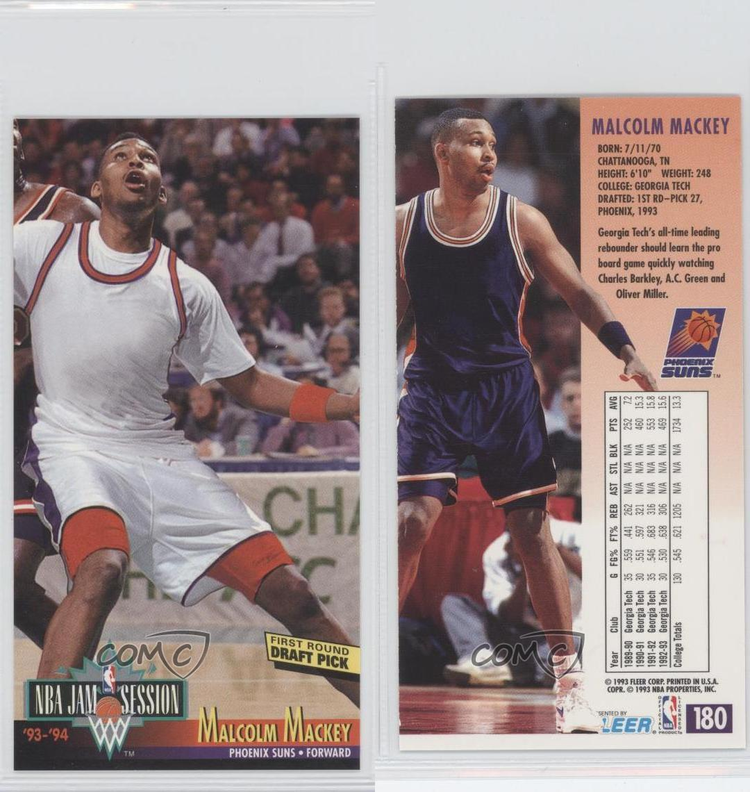 1993-94 NBA Jam Session #180 Malcolm Mackey Phoenix Suns