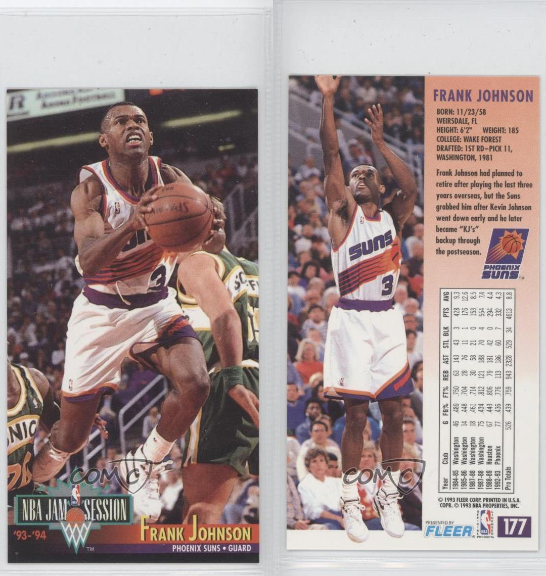 1993-94 NBA Jam Session #177 Frank Johnson Phoenix Suns