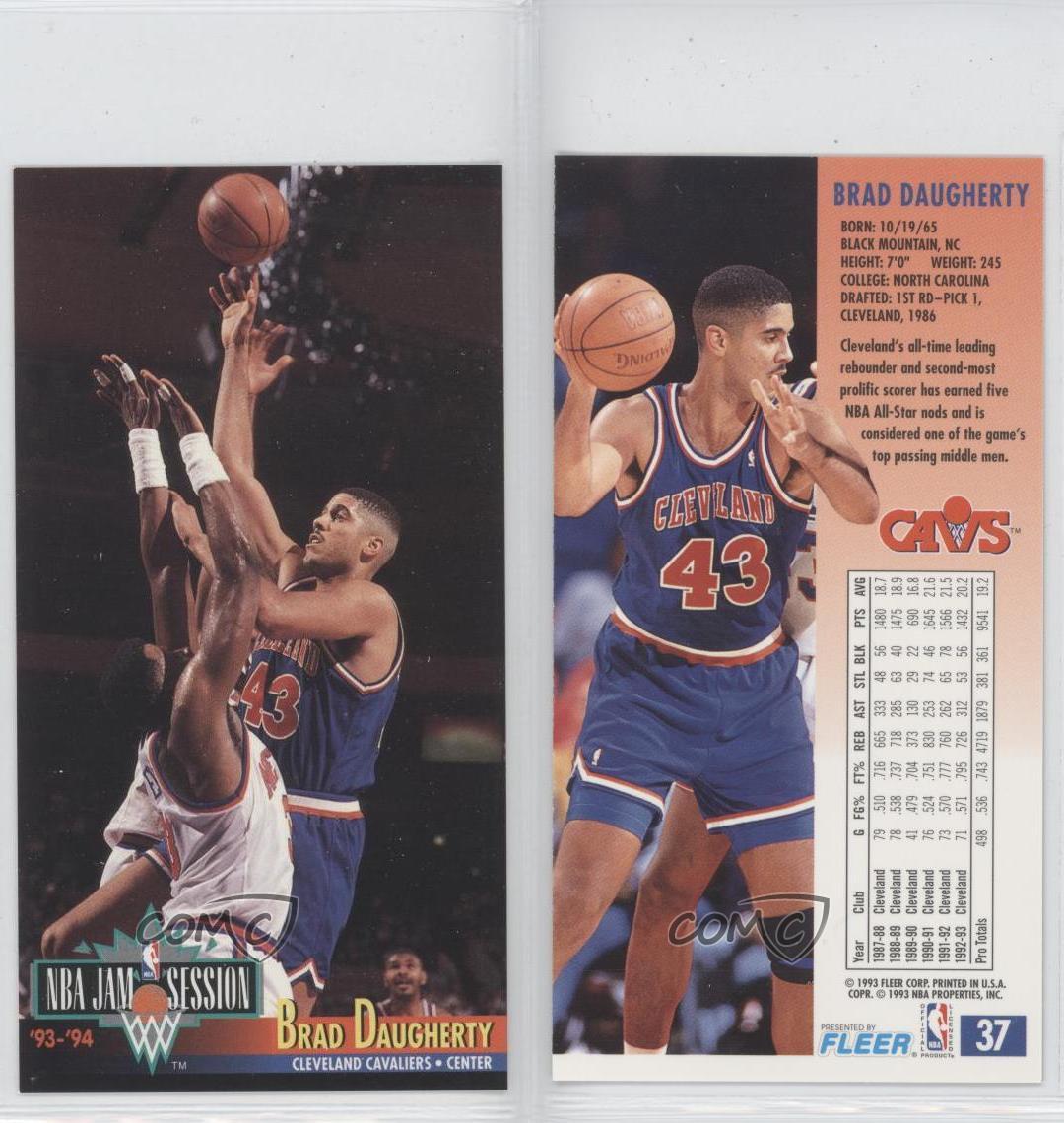 1993-94 NBA Jam Session #37 Brad Daugherty Cleveland