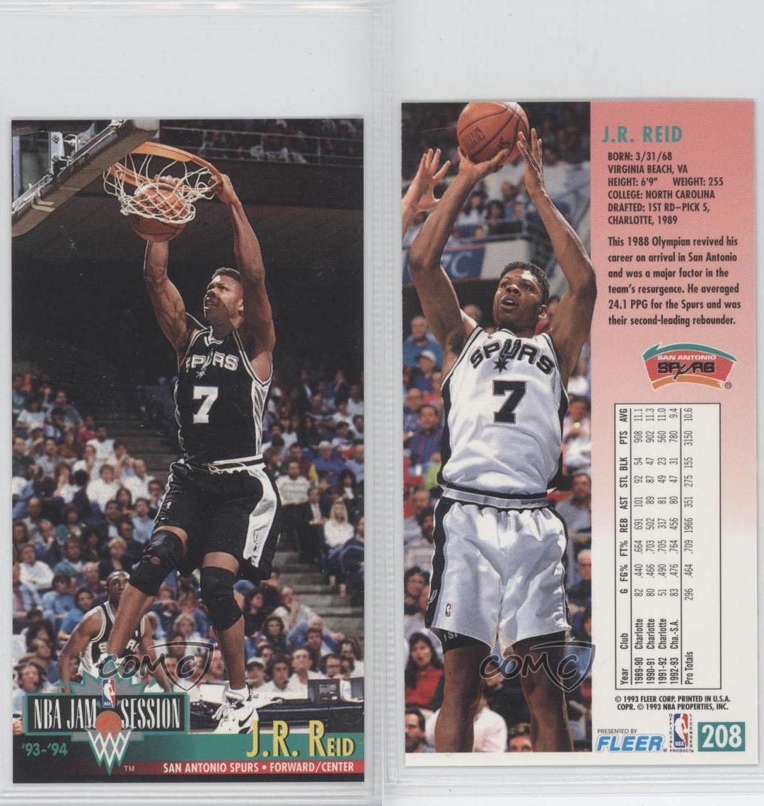 1993-94 NBA Jam Session #208 JR Reid San Antonio Spurs J.R