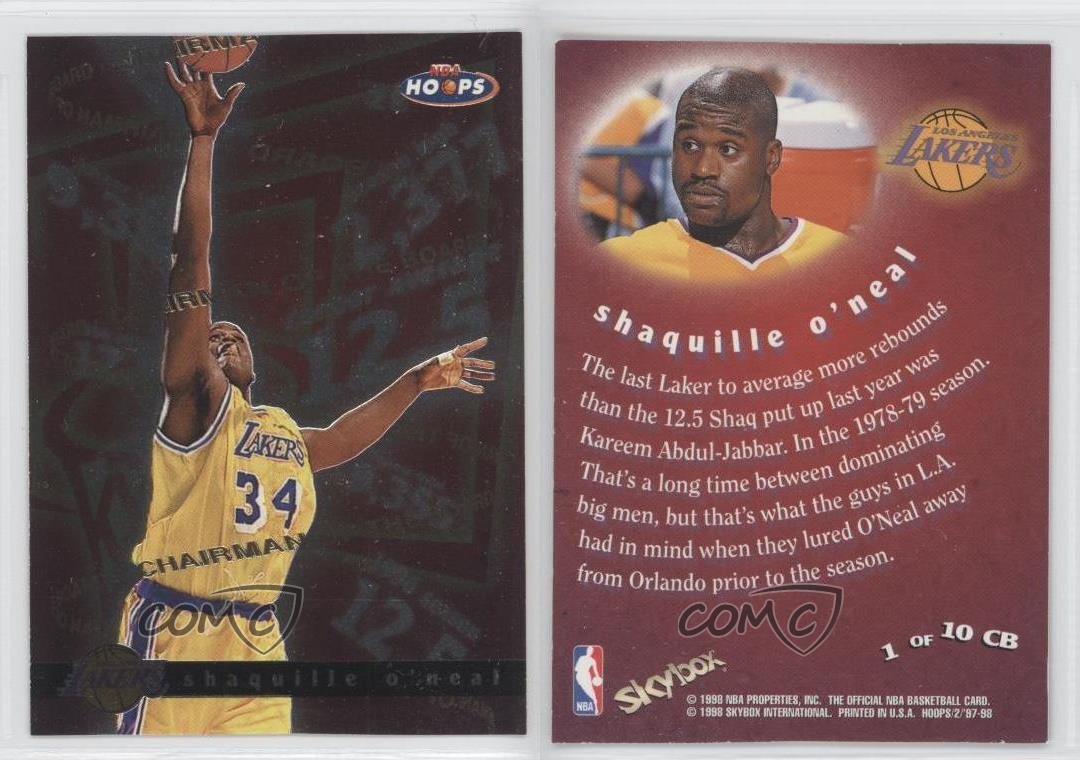 chairman of the board 1cb shaquille o 39 neal los angeles lakers ebay