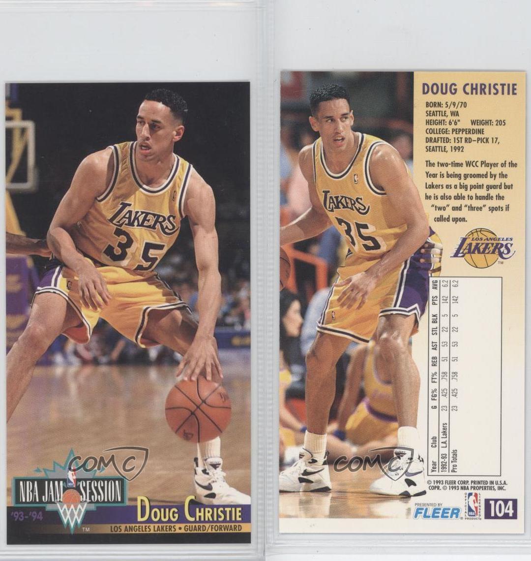 1993-94 NBA Jam Session #104 Doug Christie Los Angeles