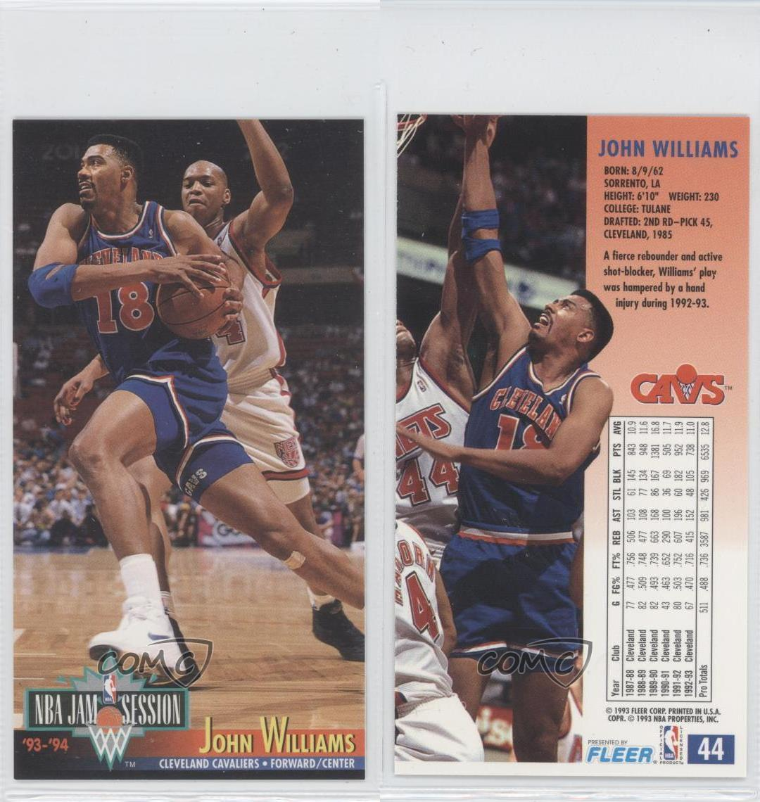 1993-94 NBA Jam Session #44 John Williams Cleveland