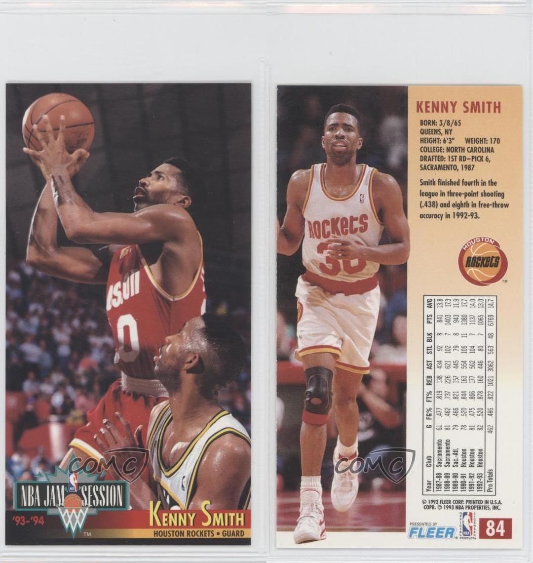 1993-94 NBA Jam Session #84 Kenny Smith Houston Rockets