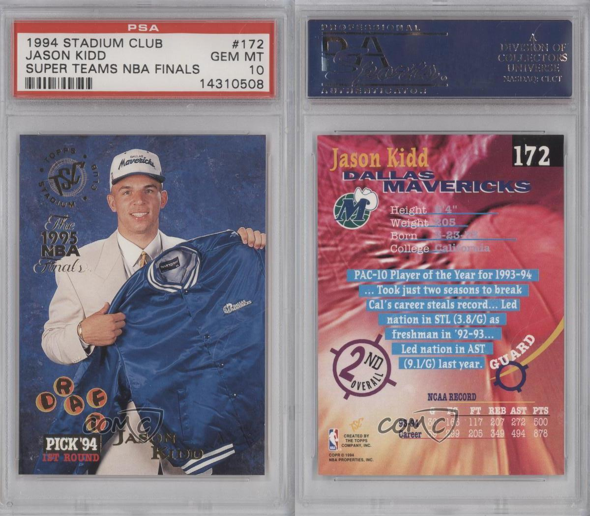 1994-95 Topps Stadium Club Prizes The 1995 NBA Finals 172