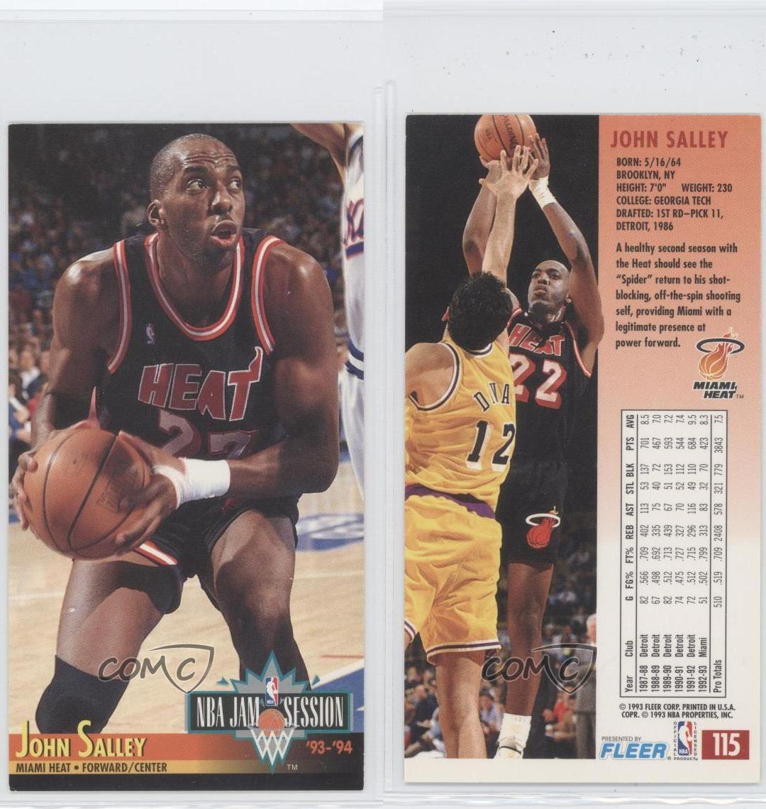 1993-94 NBA Jam Session #115 John Salley Miami Heat