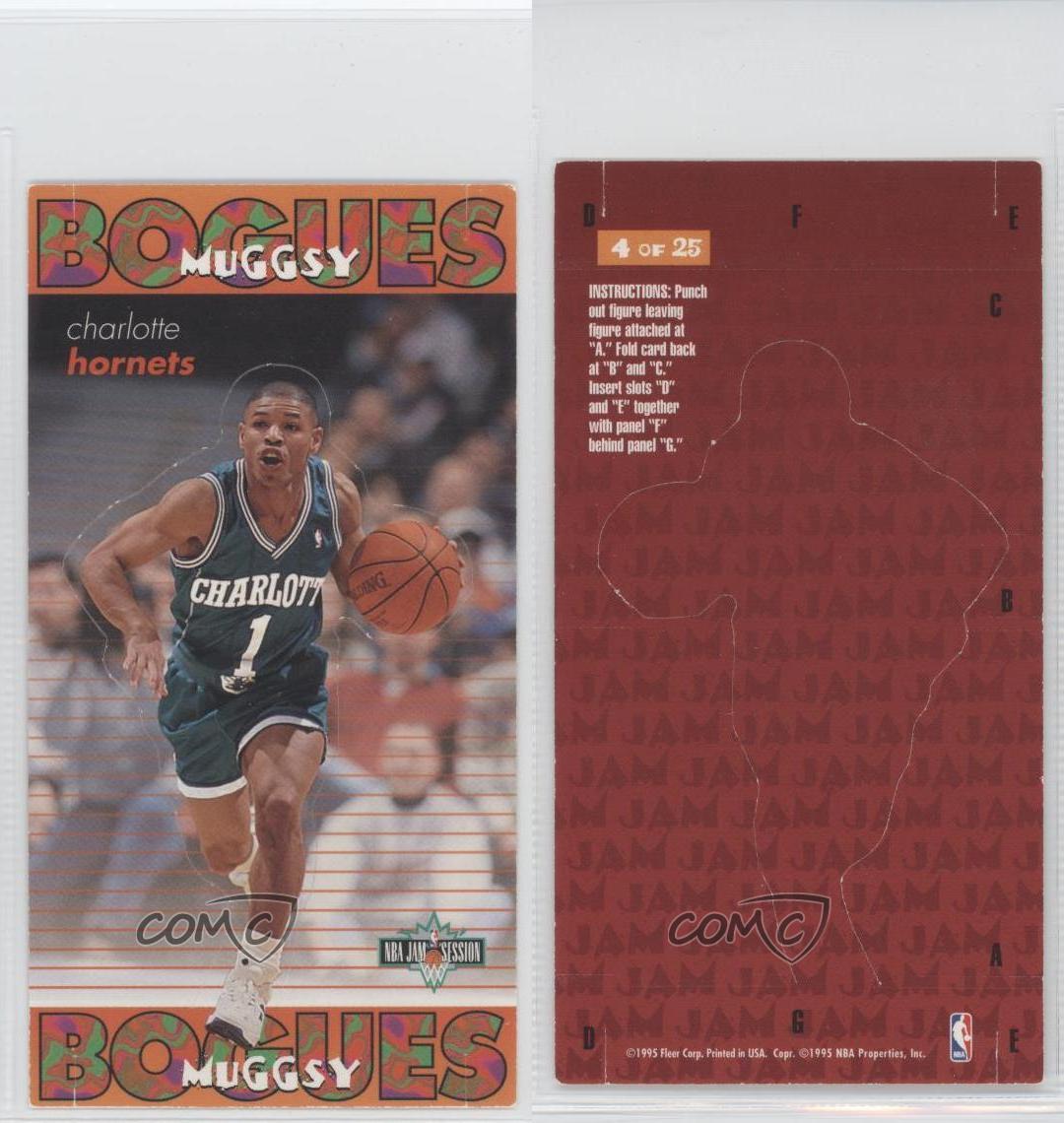 1995 Fleer NBA Jam Session Pop-Ups 4 Muggsy Bogues