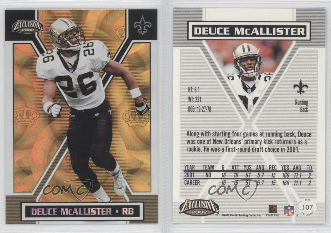 Refresh Pacific Exclusive Gold Deuce Mcallister