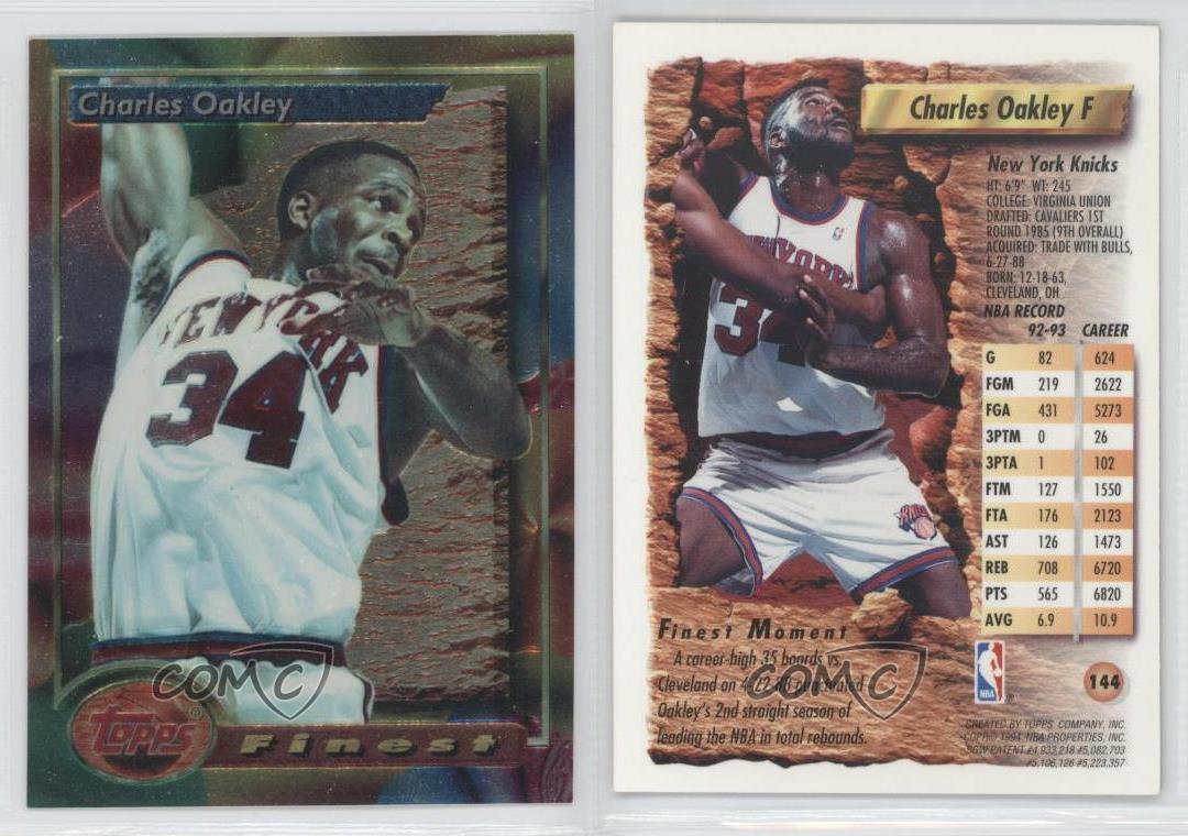 569fa35d1e85 Charles Oakley Basketball Card