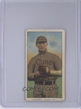 1909-11 T206 - [Base] - Sweet Caporal Unknown Factory Back #LUND - Carl Lundgren [Poor]