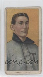 1909-11 T206 #N/A - Fred Abbott [Good to VG‑EX]