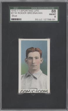 1910-11 Sporting Life M116 #N/A - Roger Bresnahan [SGC88]