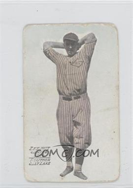 1916 Zeenut Pacific Coast League - [Base] #N/A - Walter Reuther [Good to VG‑EX]