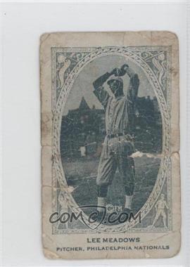 1922 American Caramel Series of 240 E120 #NoN - Lee Meadows [Poor]