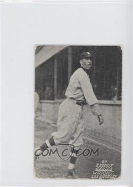 1927 Zeenut Pacific Coast League Without Coupon #N/A - [Missing] [GoodtoVG‑EX]