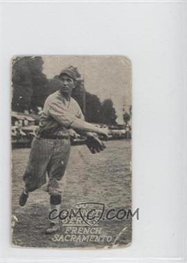 1930 Zeenut Pacific Coast League Without Coupon #N/A - Freddy Sale
