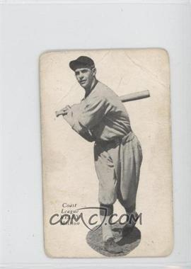 1932 Zeenut Pacific Coast League Without Coupon #N/A - Ernie Kelly