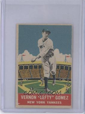 1933 DeLong R333 #14 - Lefty Gomez