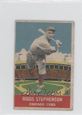 1933 DeLong R333 #15 - Riggs Stephenson