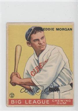 1933 Goudey Big League Chewing Gum - R319 #116 - Eddie Morgan
