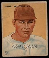 Earl Whitehill [VG]
