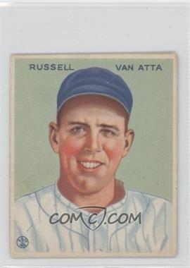 1933 Goudey Big League Chewing Gum - R319 #215 - Russ Van Atta