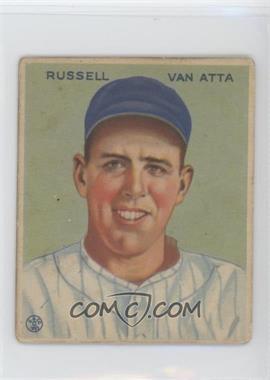 1933 Goudey Big League Chewing Gum - R319 #215 - Russ Van Atta [GoodtoVG‑EX]