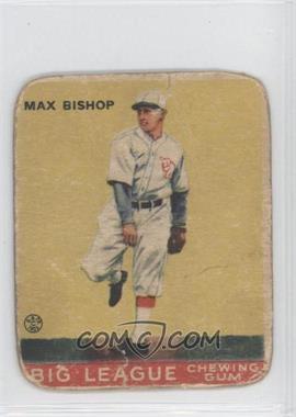 1933 Goudey Big League Chewing Gum - R319 #61 - Max Bishop