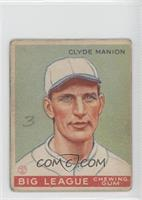 Clyde Manion [Good to VG‑EX]