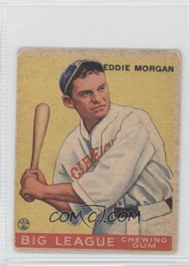 1933 Goudey Big League Chewing Gum R319 #116 - Ed Morgan [Good to VG‑EX]