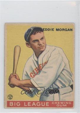 1933 Goudey Big League Chewing Gum R319 #116 - Ed Morgan