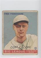 Fred Frankhouse [Good to VG‑EX]