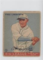 Freddie Lindstrom [Good to VG‑EX]