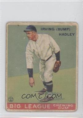 1933 Goudey Big League Chewing Gum R319 #140 - Irv Hach [GoodtoVG‑EX]