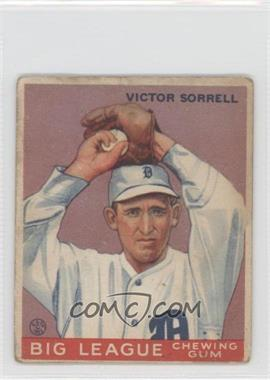 1933 Goudey Big League Chewing Gum R319 #15 - Vic Sorrell
