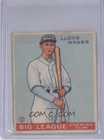 Lloyd Waner [Good to VG‑EX]