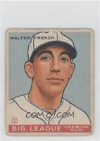 Walt French [Good to VG‑EX]