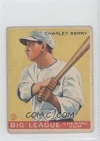Charlie Berry [Good to VG‑EX]
