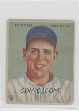 1933 Goudey Big League Chewing Gum R319 #215 - Russ Van Atta [GoodtoVG‑EX]
