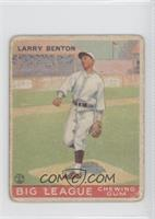 Larry Benton [Poor to Fair]