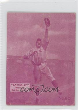 1934-36 National Chicle Batter-Up R318 #60 - Eddie Morgan