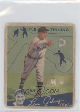 1934 Goudey Big League Chewing Gum R320 #71 - Lynwood Tillotson