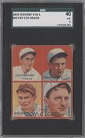 Mickey Cochrane, Charlie Gehringer, Tommy Bridges, Billy Rogell [SGC 40]