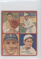 Al Simmons, Mickey Cochrane, Muddy Ruel, Willie Kamm [Good to VG&#820…