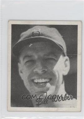 1936 Goudey R322 #BIWE - Billy Werber
