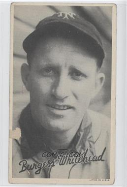 1936 Goudey Wide Pen Premiums R314 #N/A - Burgess Whitehead
