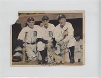 Pete Fox, Jo Jo White, Goose Goslin [Poor]