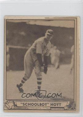 1940 Play Ball #118 - Schoolboy Hoyt