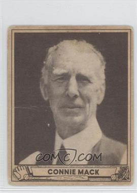 1940 Play Ball #132 - Connie Mack [Good to VG‑EX]